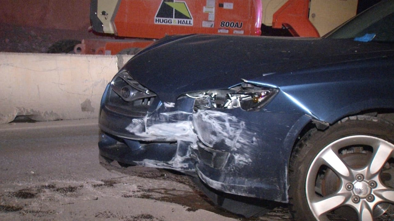 Crash Lands Tulsa Driver In Jail On DUI Complaint