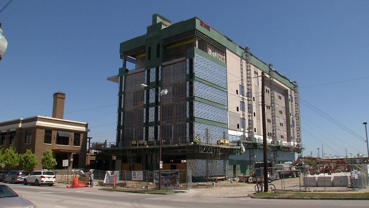 Hard Hat Tour Of New Downtown Hotel
