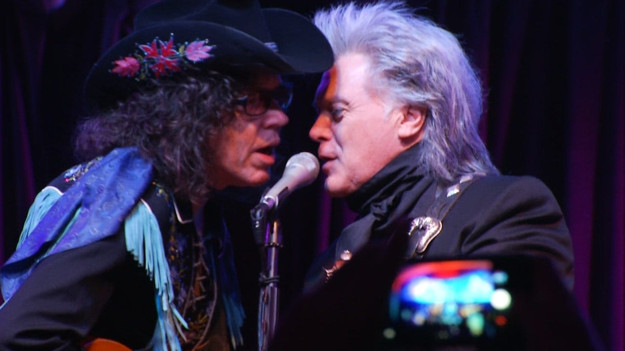 Music Legend Marty Stuart Holds Benefit Concert For Woody Guthrie Center