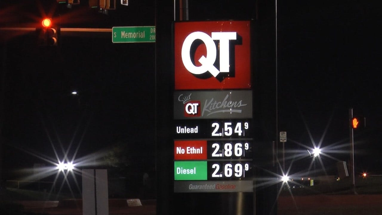 Price Of Gasoline In Tulsa Area Jumps 17 Cents