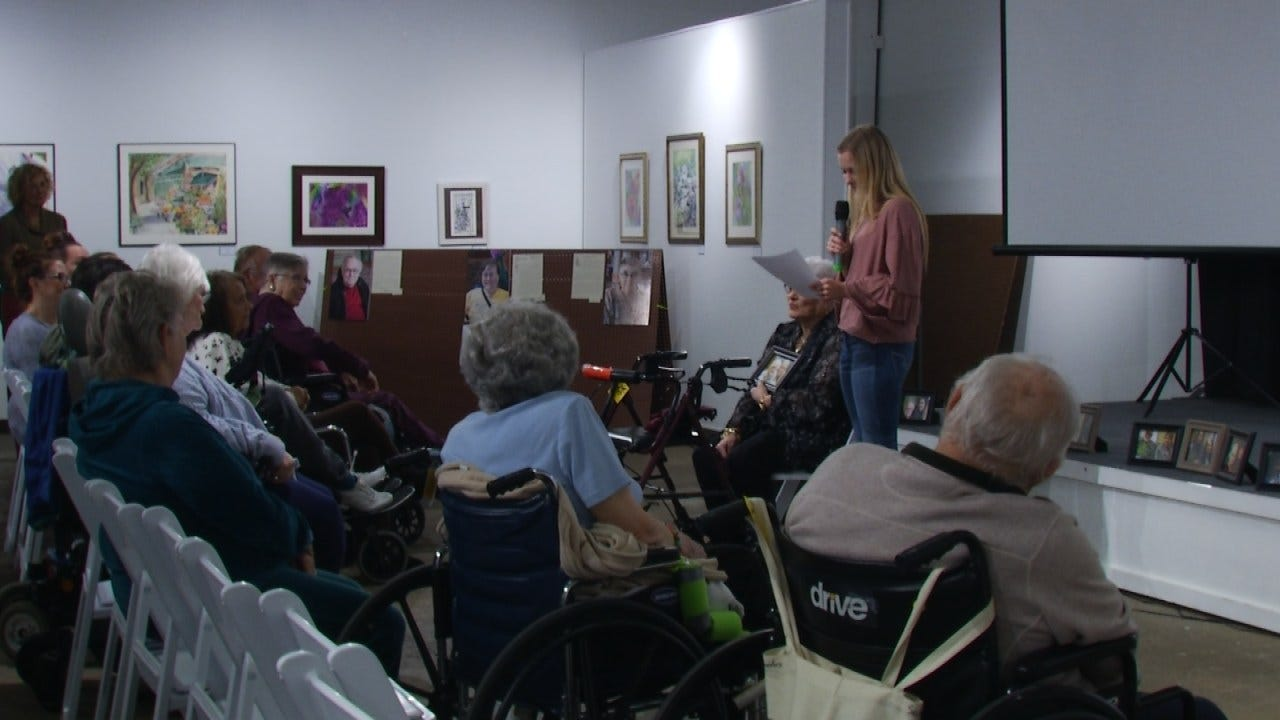 Seniors Help Jenks Students As Part Of Special History Lesson
