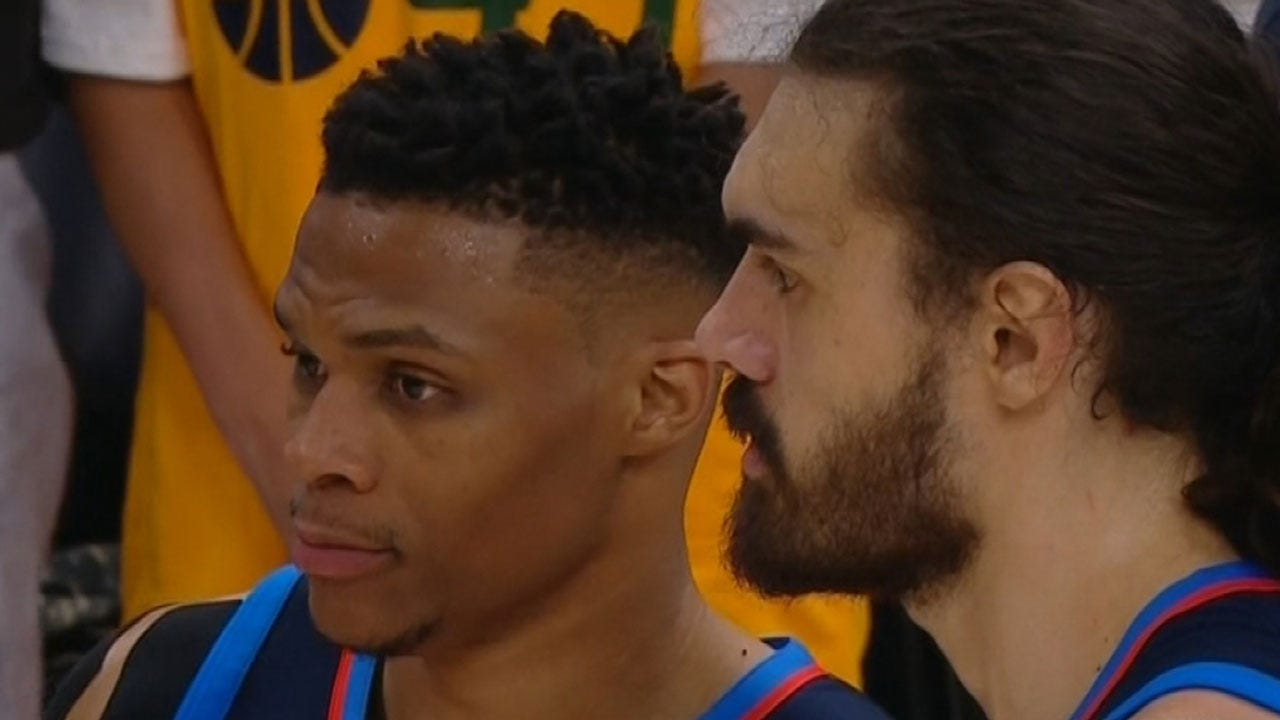 Thunder Gearing Up For Game 5 Against The Jazz