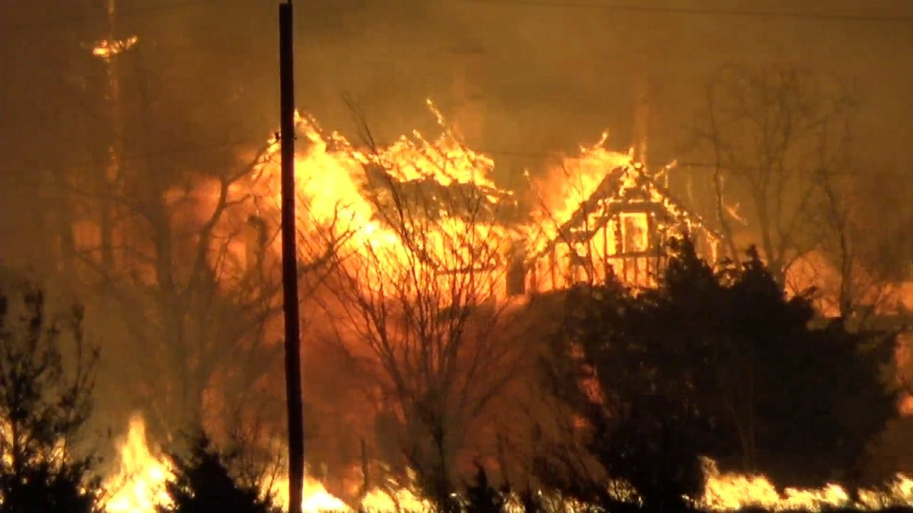 Western OK Wildfire 99 Percent Contained, Officials Say
