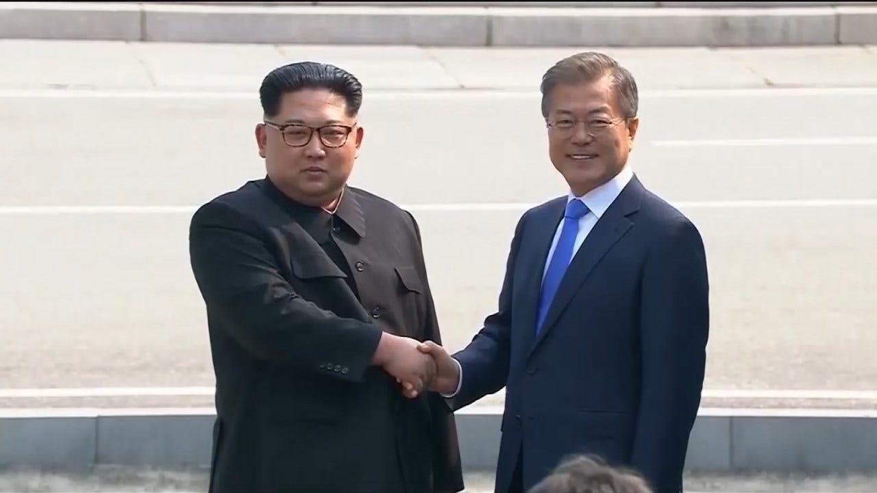Kim Jong Un Walks Across Border To Meet South Korean President