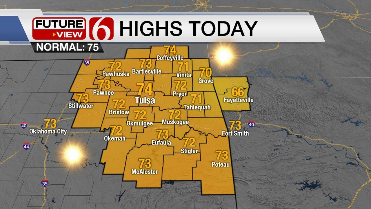 Pleasant Weekend Expected Across Green Country
