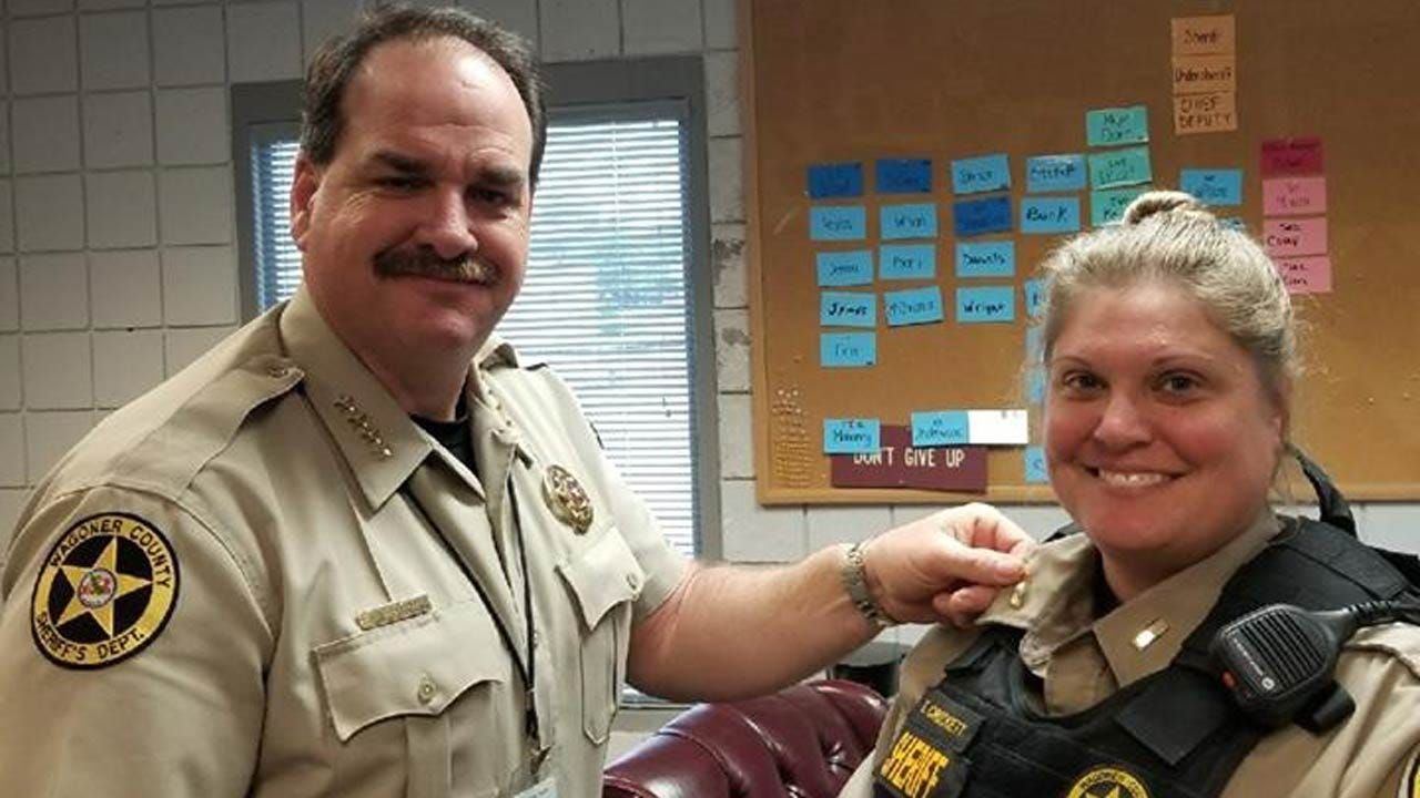 Wagoner County Deputy Promoted To First Female Lieutenant
