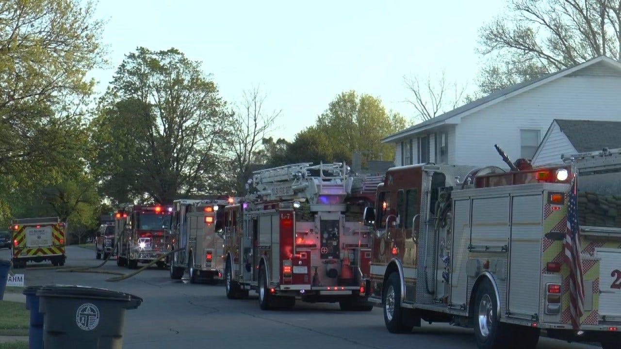 Woman Injured In Tulsa Duplex Fire