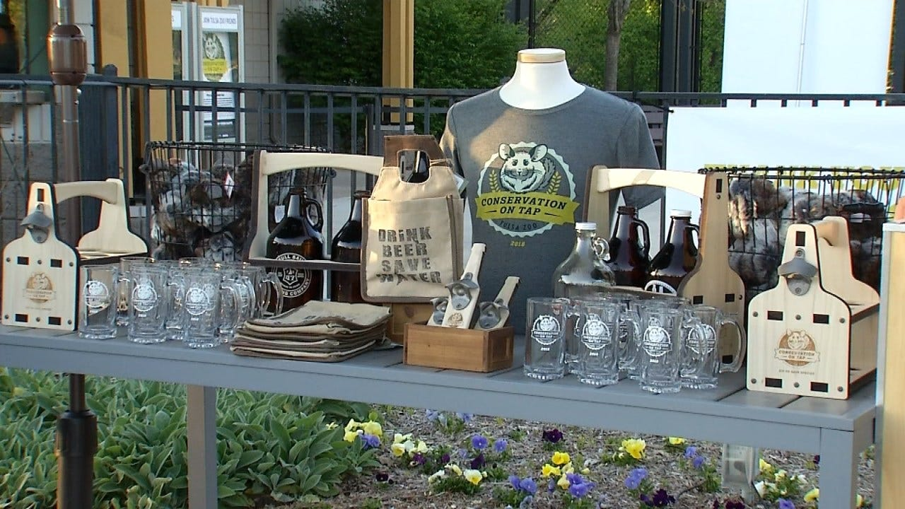 """Conservation On Tap"" Beer Tasting Held At Tulsa Zoo"