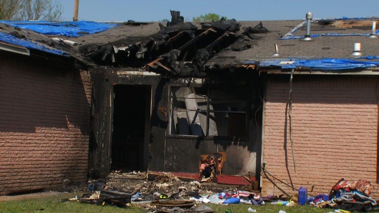 Man Sent To Hospital After Tulsa House Fire