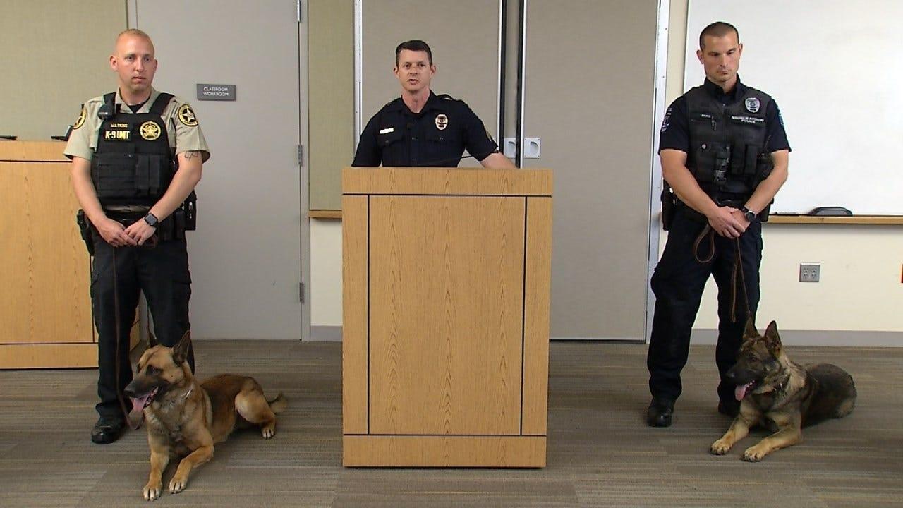 Police K-9 Teams Graduate Training Program In Broken Arrow