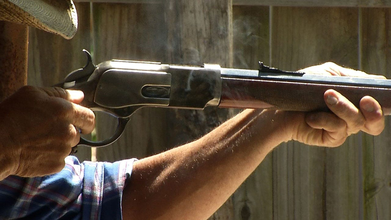 Tulsa Police Compete In Old West Shoot Off