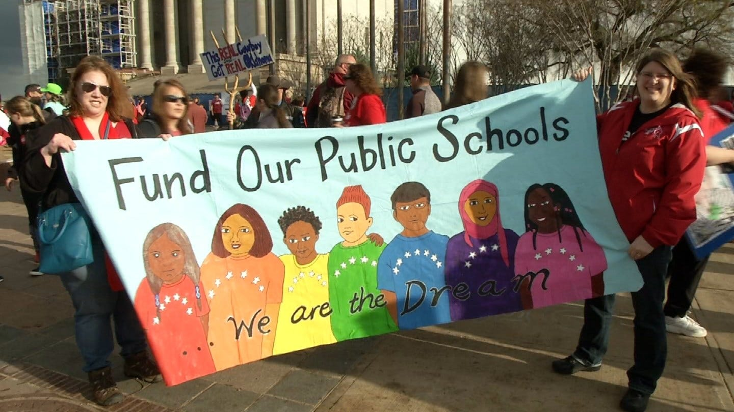 Teachers Ready For Day 3 Of Walkout, Despite Early Frustrations