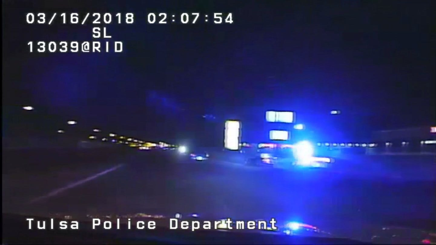 Tulsa Police Release Video Of 20-Minute Chase Last Month