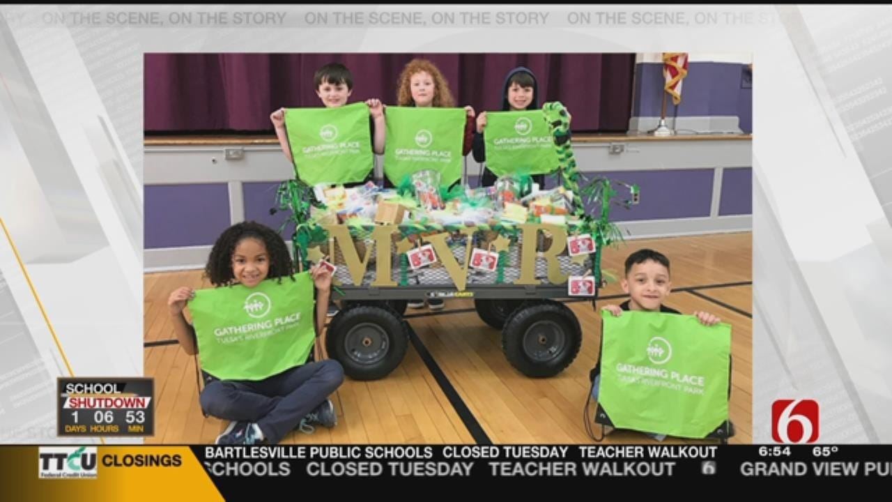 Tulsa's Eliot Elementary Takes Top Prize In March Madness Reading Challenge