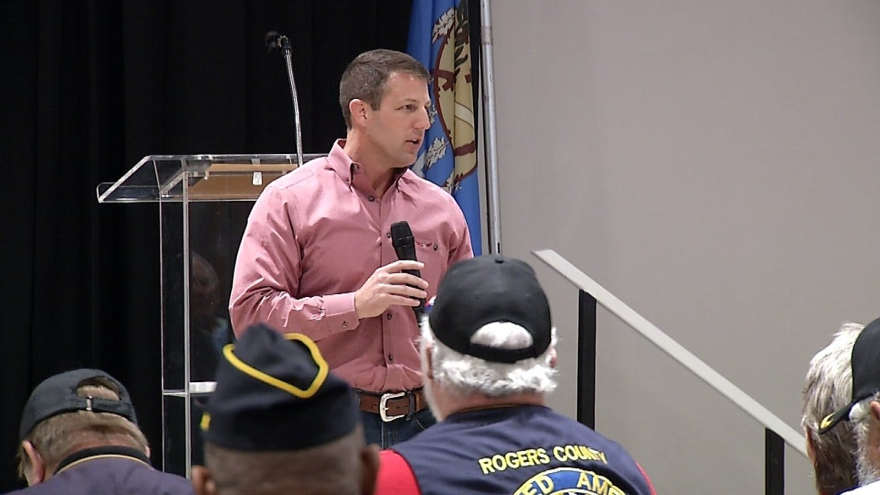 Congressman Mullin Hosts Informational Workshops For Veterans And Their Families