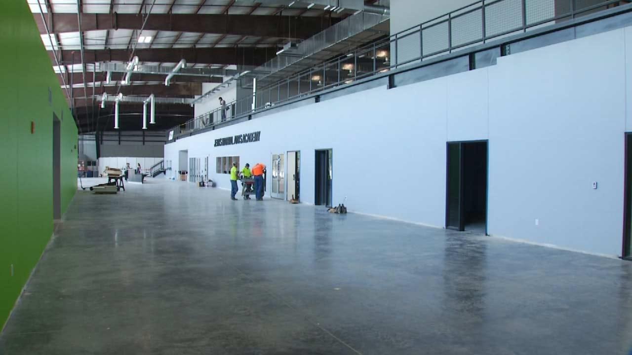 Jenks' Titan Sports Complex Nearing Completion