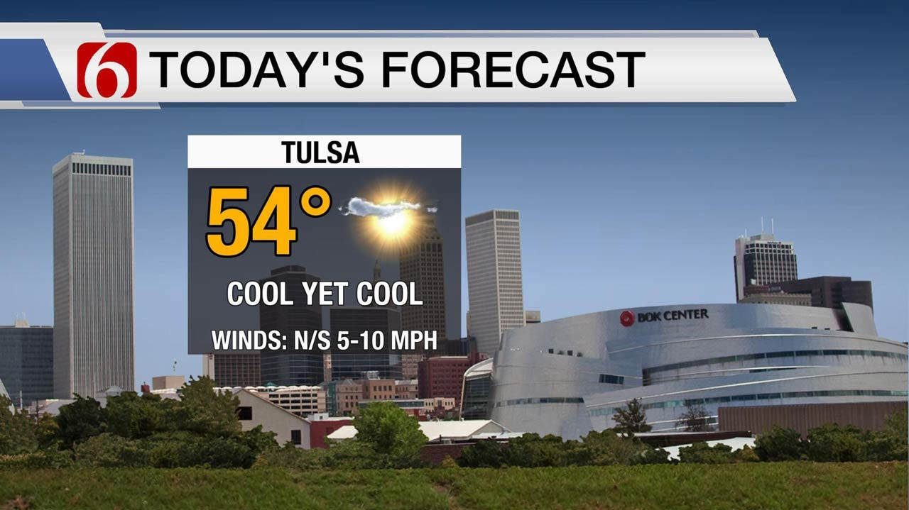 Cold Start To A Pleasant Wednesday Across Green Country