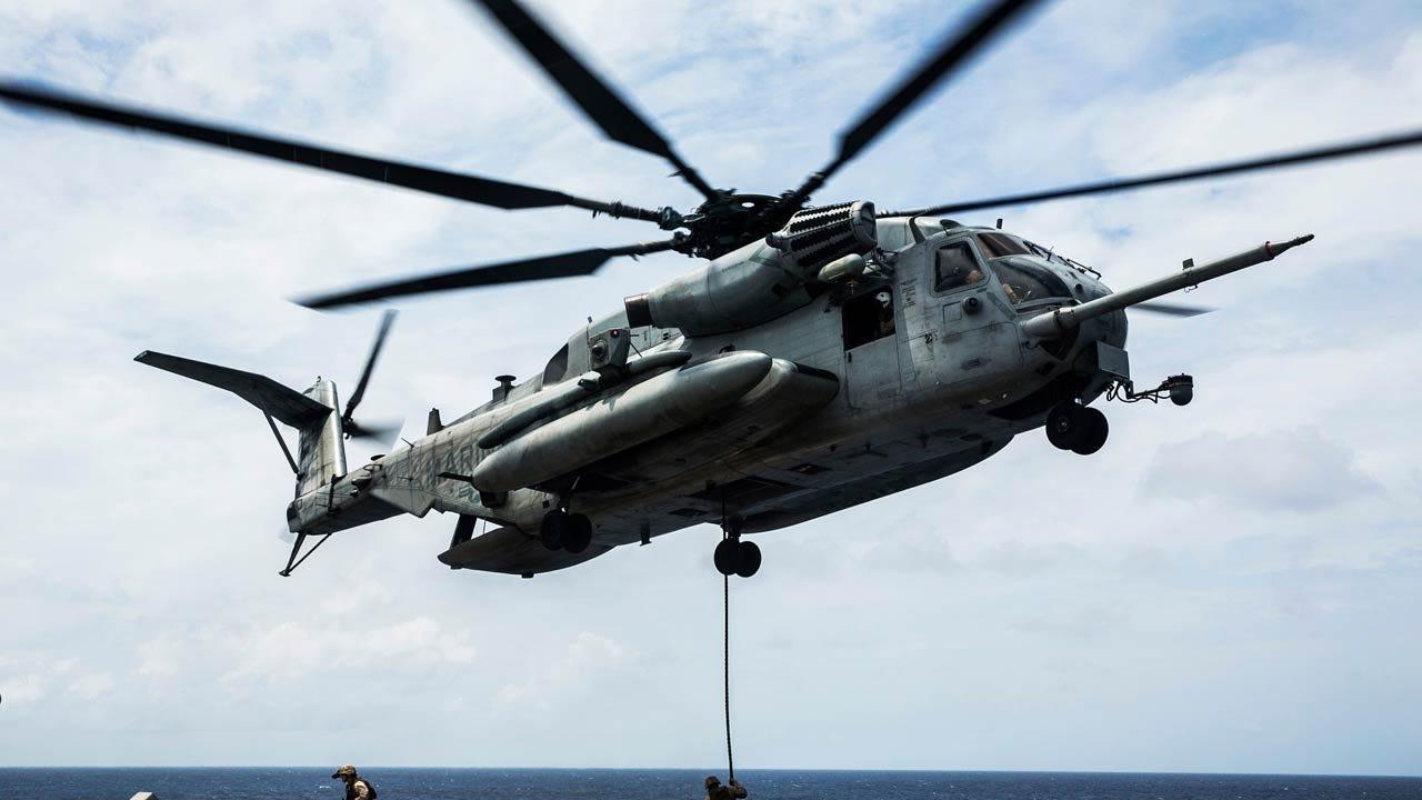 Four Presumed Dead In Marine Helicopter Crash In California