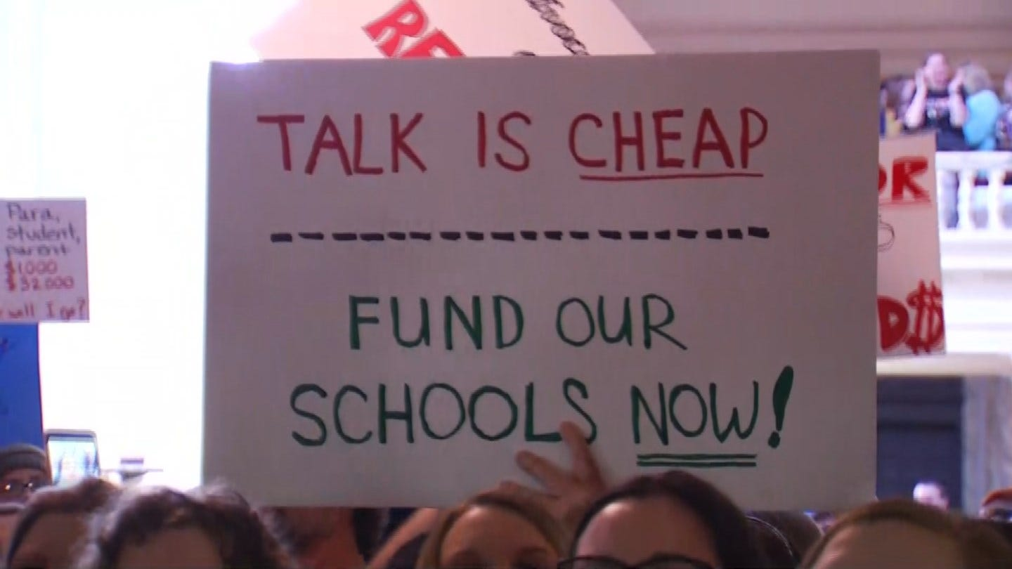 Teachers Excited About Passage Of New Tax Bill On Day 3 Of Walkout