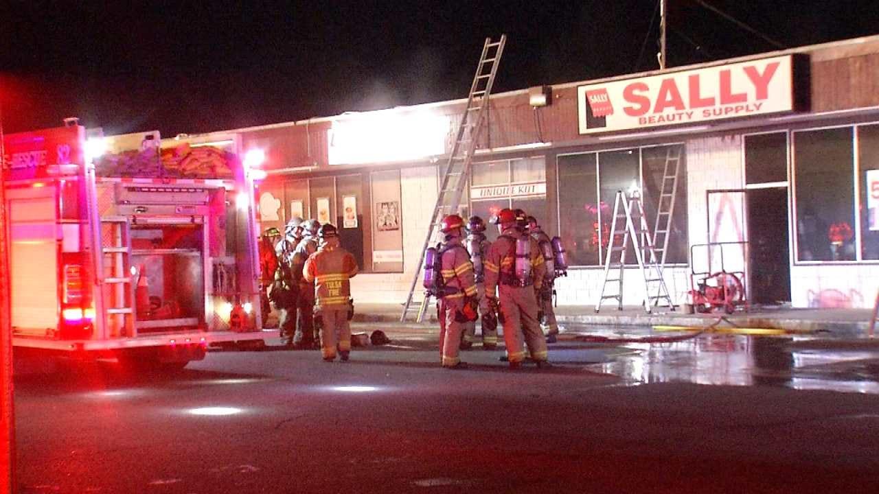 Tulsa Business Damaged By Fire