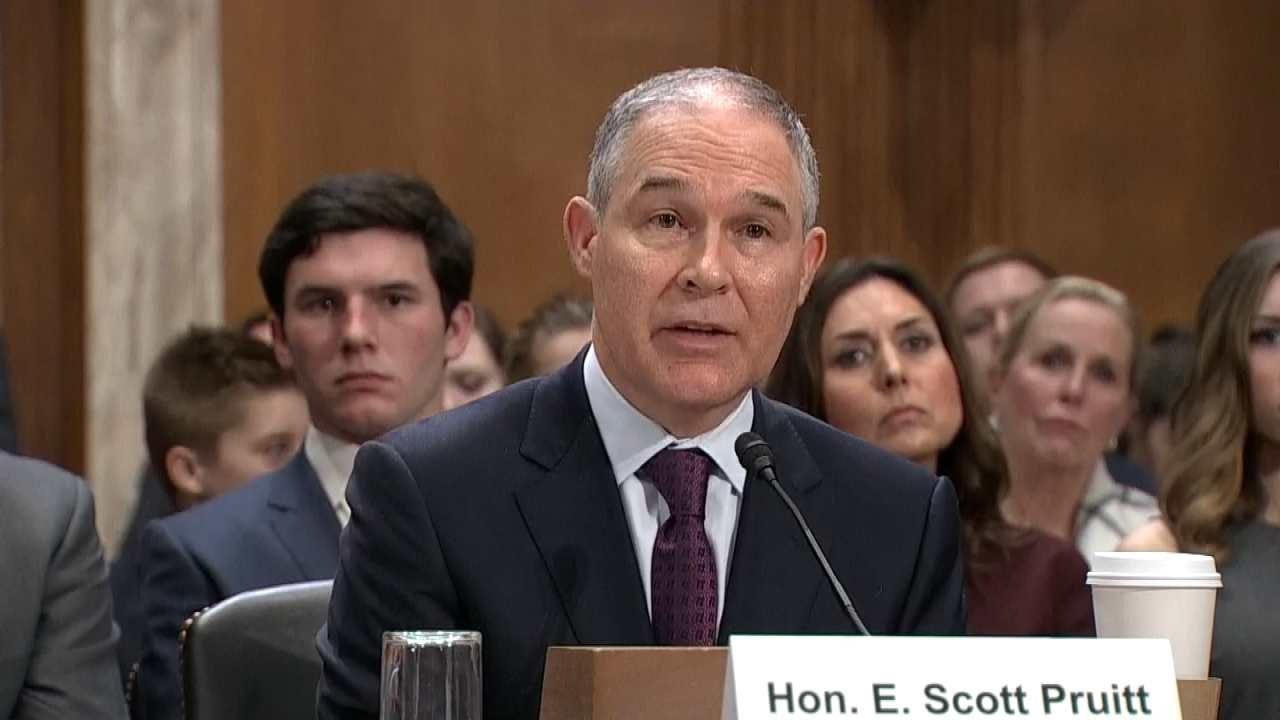 EPA Ethics Official Argues Scott Pruitt's Condo Rental Wasn't Ethics Breach