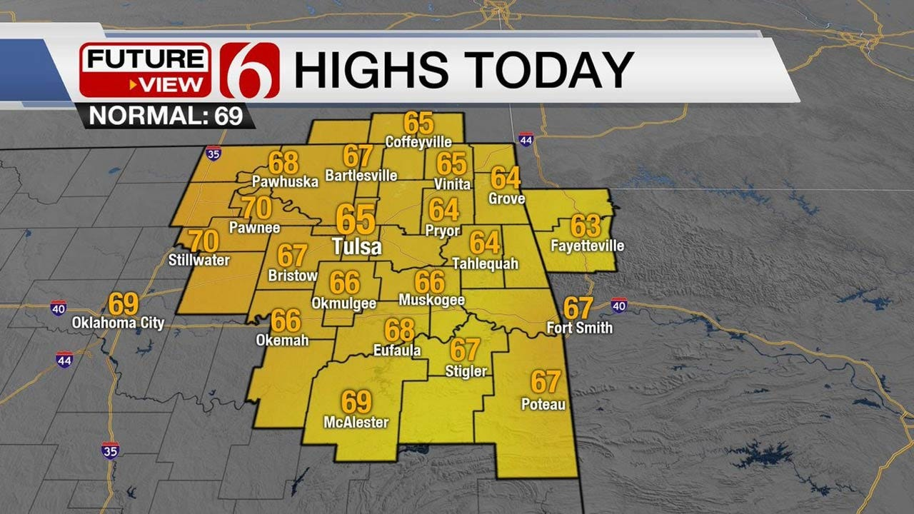 Friday Storms To Bring Winter Back To Eastern Oklahoma