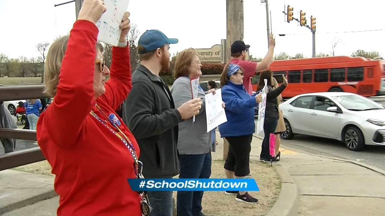 Upcoming Bills Won't Cut It, Say Tulsa Teachers