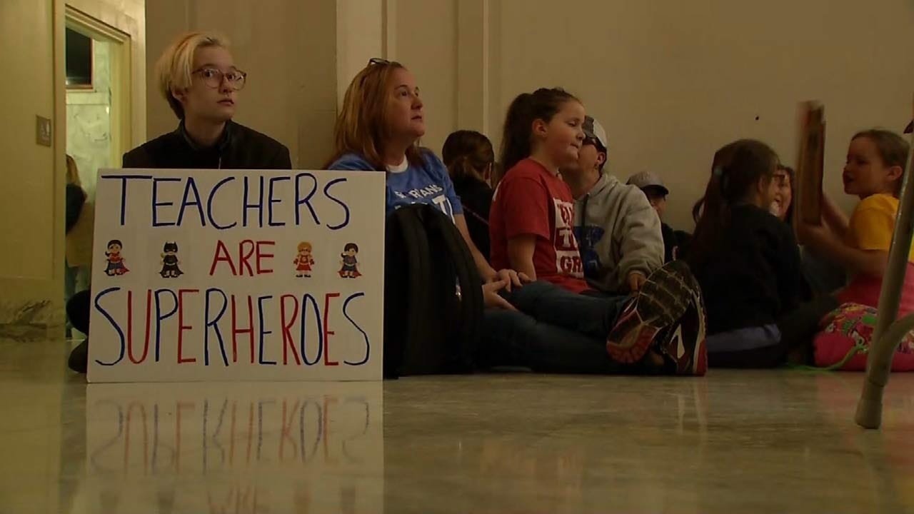 Used To Lawmakers' Broken Promises, OK Teachers Not Giving Up