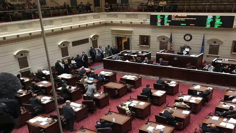 Amazon, 'Ball And Dice' Tax Bills Pass Senate, Headed To Governor's Desk