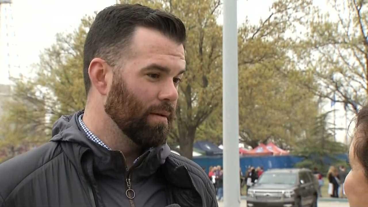 Legislators Living In A Bubble, Says OK Educator Who Rode Bike To Capitol