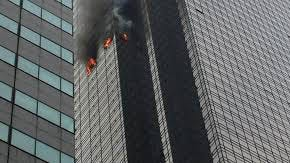 Fire At Trump Tower Leaves 1 Civilian Dead, 4 Firefighters With Minor Injuries