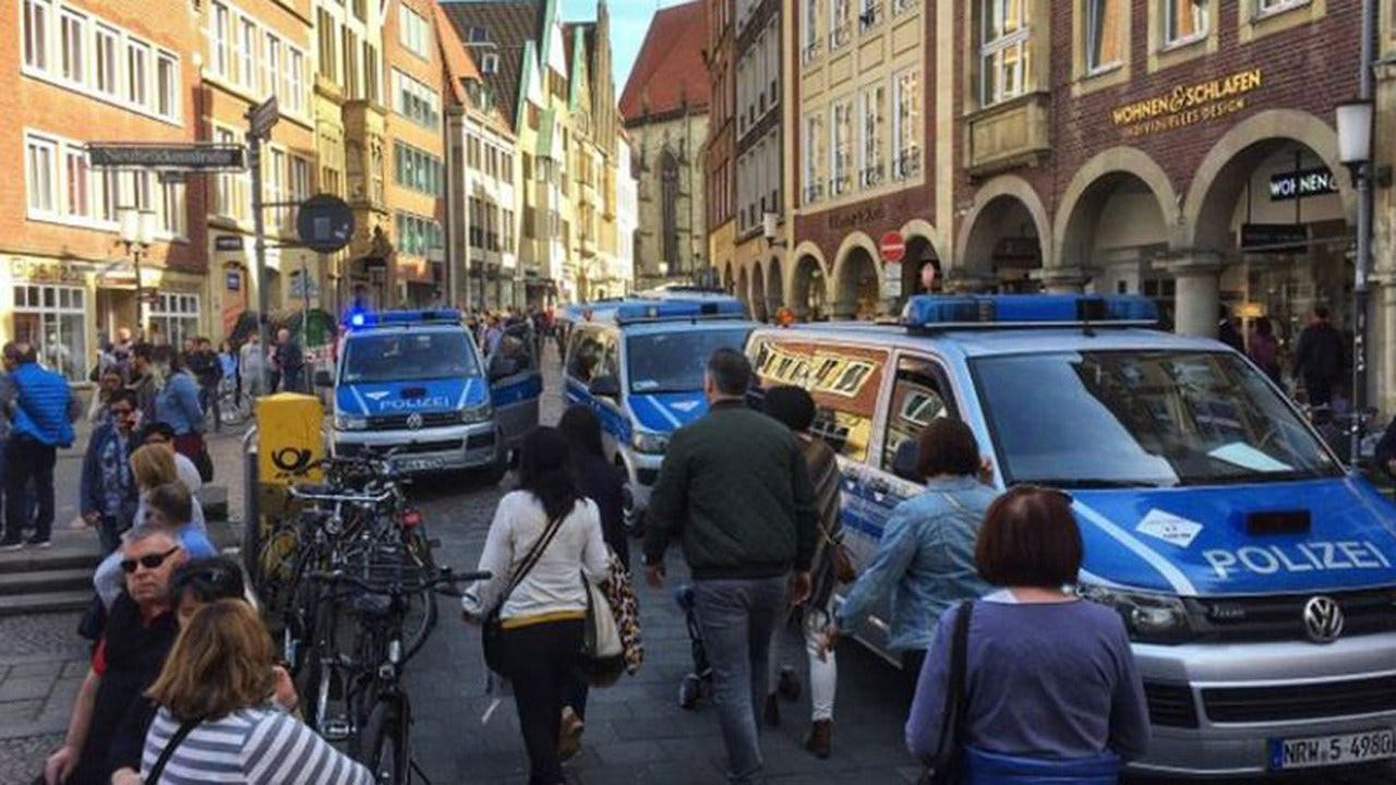German Police: Vehicle Crashes Into Crowd In Muenster, Some Dead