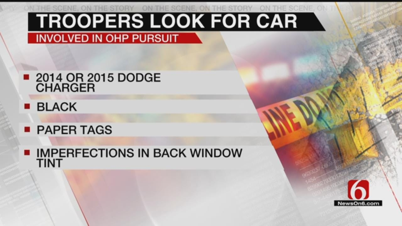 OHP Searches For Car After Trooper-Involved Crash