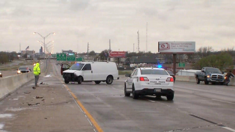 Road Conditions, Accidents Causing Traffic Delays Around Tulsa