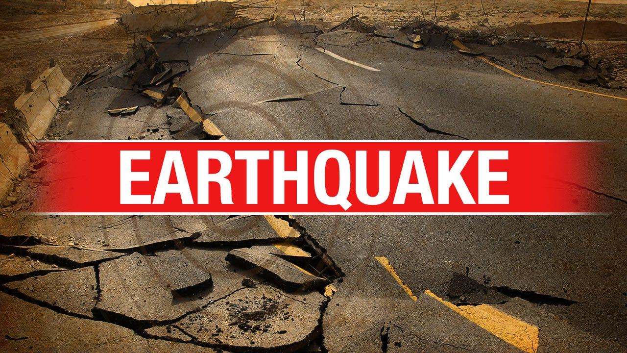 Saturday Morning Earthquake West Of Perry