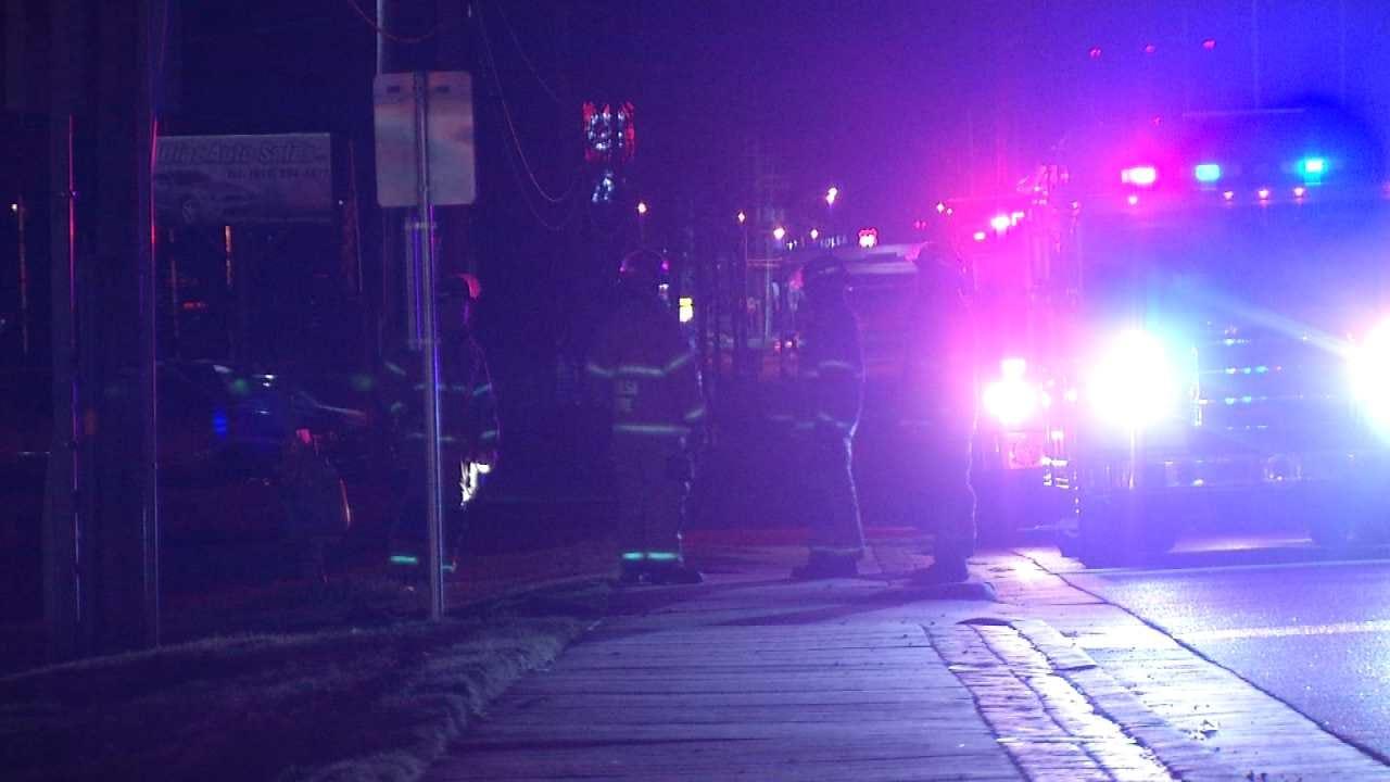 Accident Causes Tulsa Natural Gas Leak