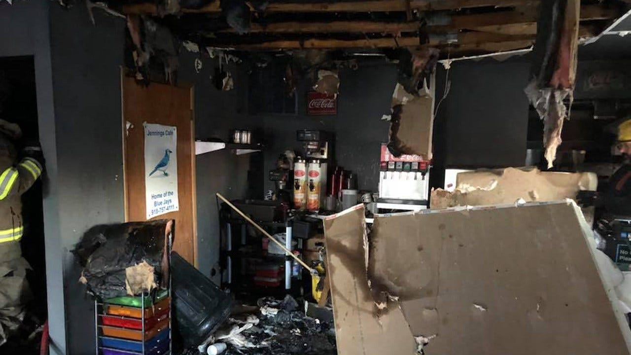 Jennings Firefighters Ask Community To Support Restaurant Damaged By Weekend Fire