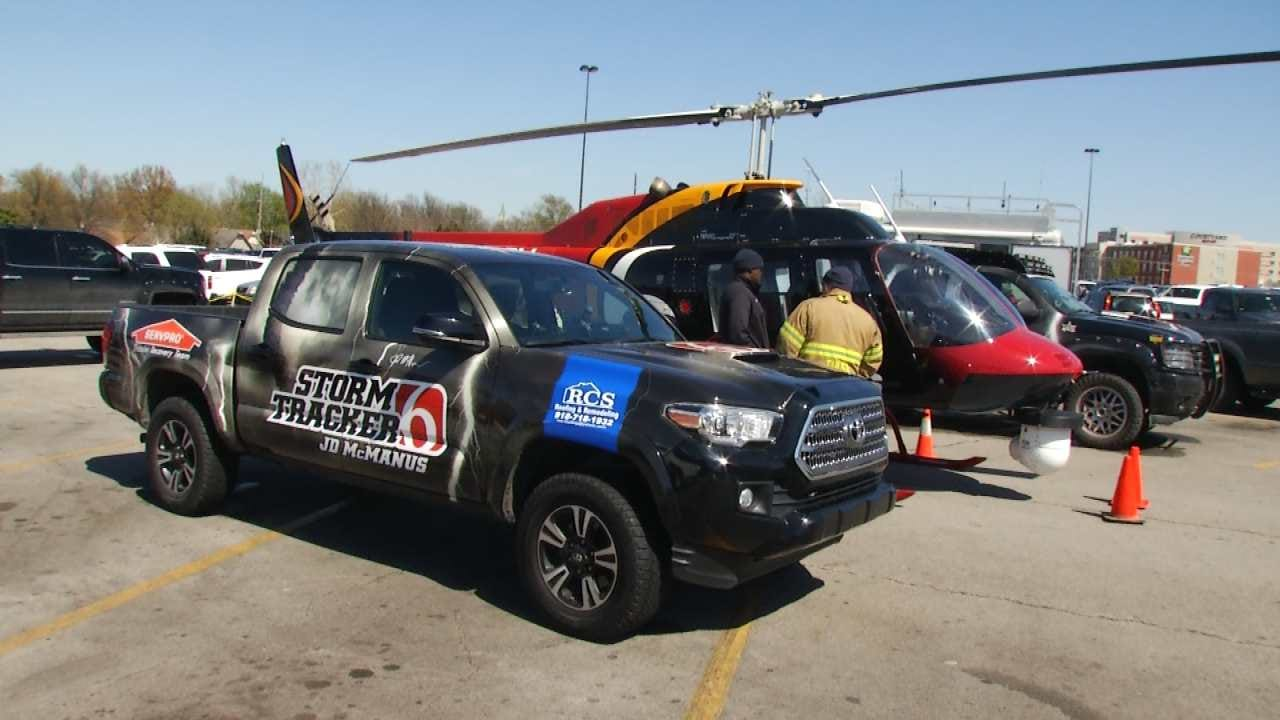News On 6 Attends Tulsa Severe Weather Expo