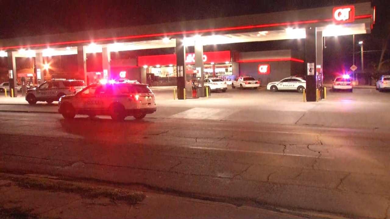 Police: Man Shot In Leg While Walking Along Tulsa Street