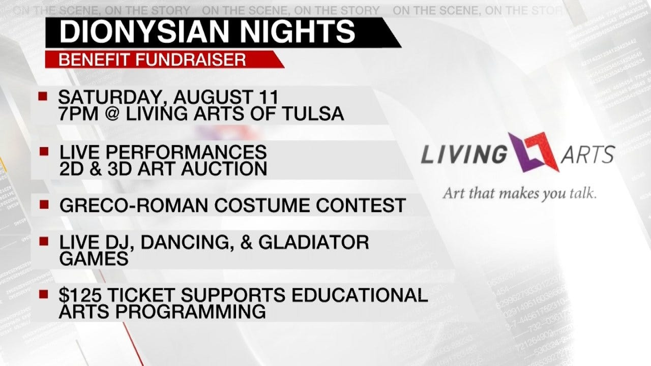 Living Arts Of Tulsa Holding Fundraiser On August 11th