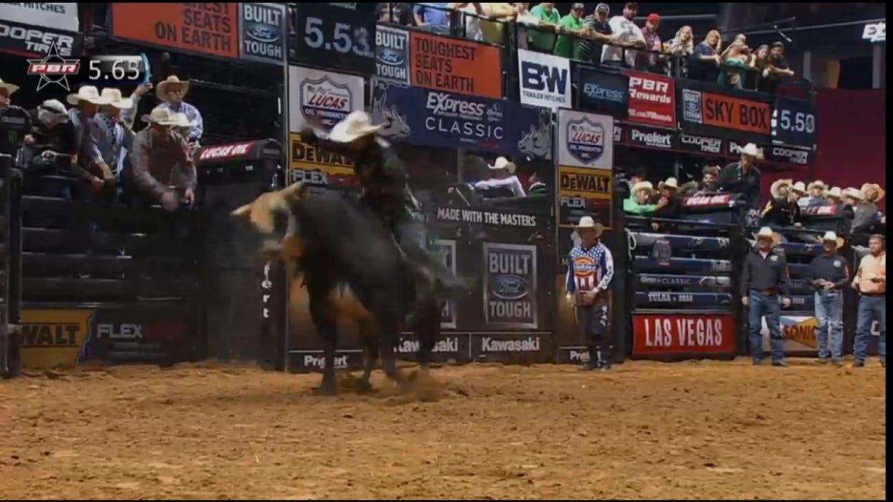 Hulbert Man Competing In PBR's Bull Riding At Tulsa's BOK Center