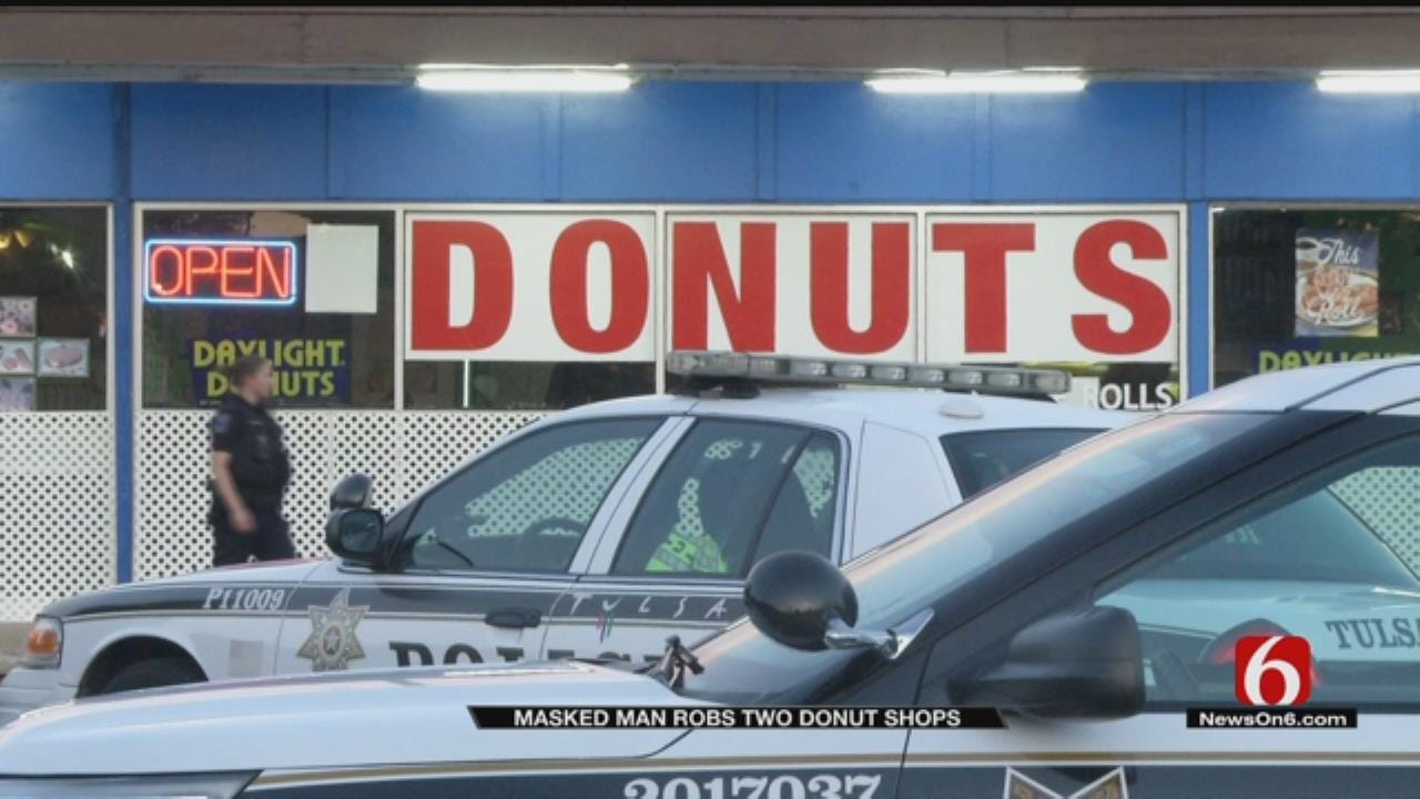 TPD Looking For Suspect In Armed Robbery Of Two Donut Shops