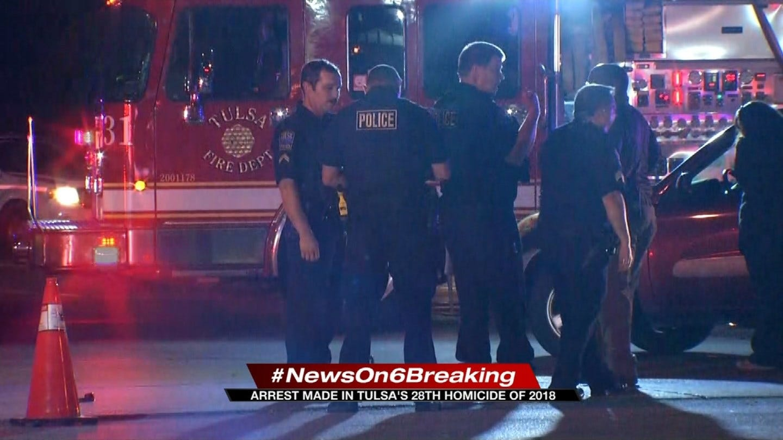 Tulsa Police Make Arrest In Murder Of Cyclist