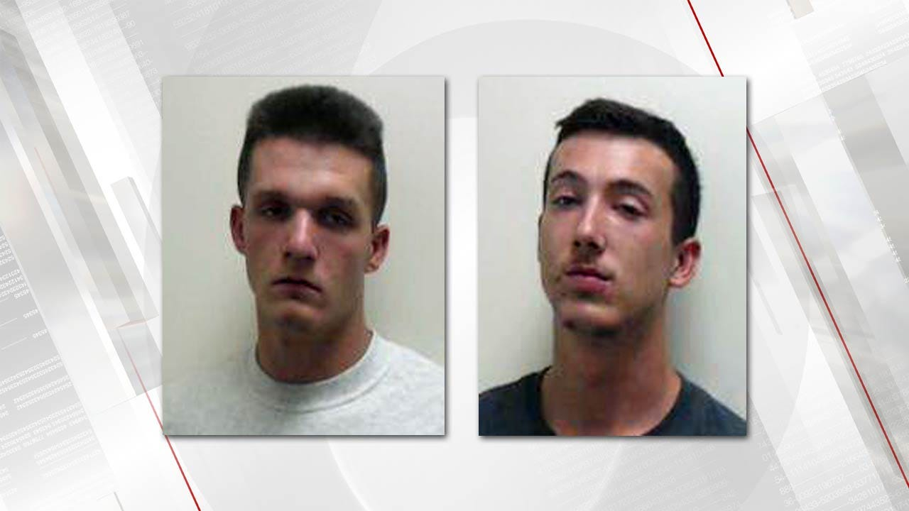 Two Men Arrested For Breaking Into An Owasso Woman's Car
