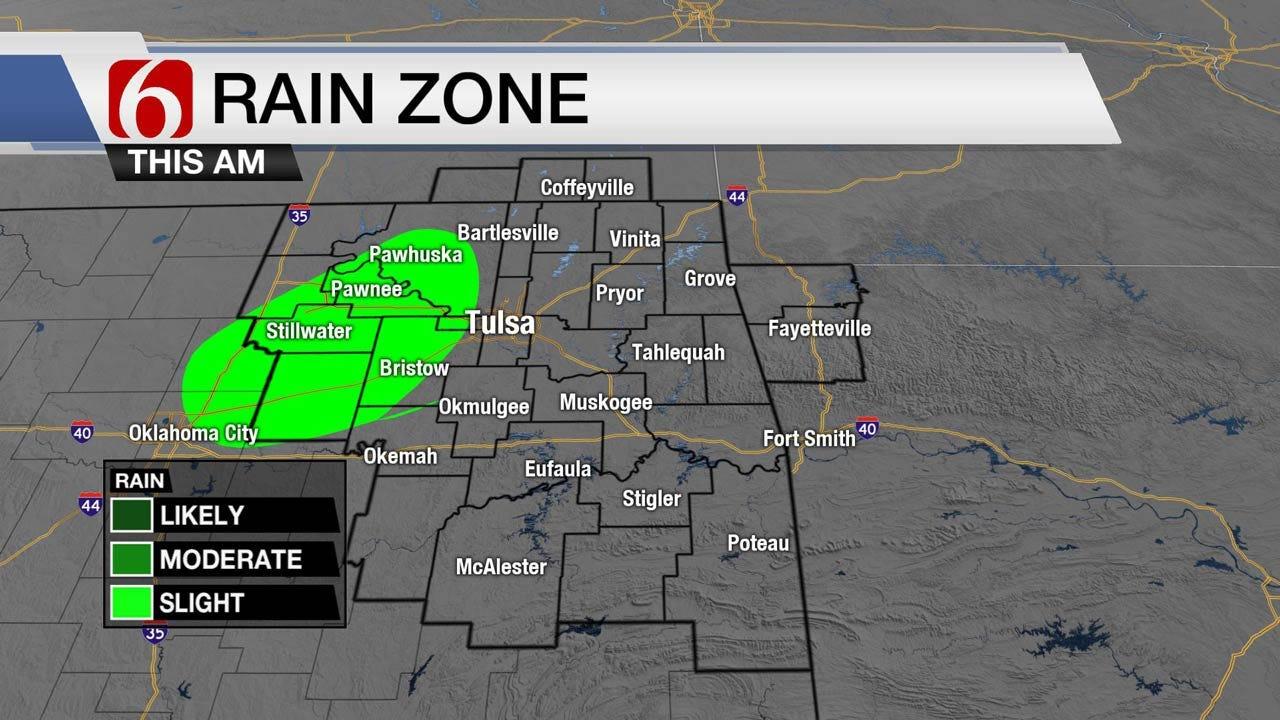 Warm Across Oklahoma With An Ozone Alert For Tulsa