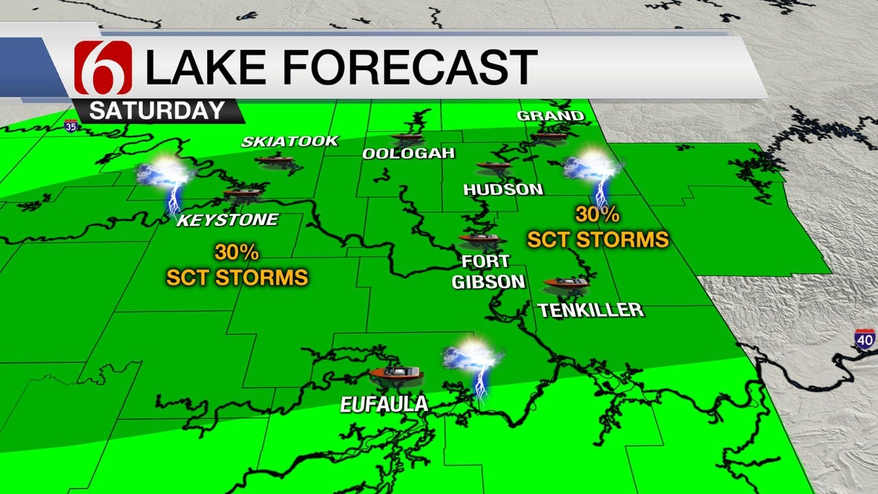 Saturday Heat And Storms Expected Across Green Country