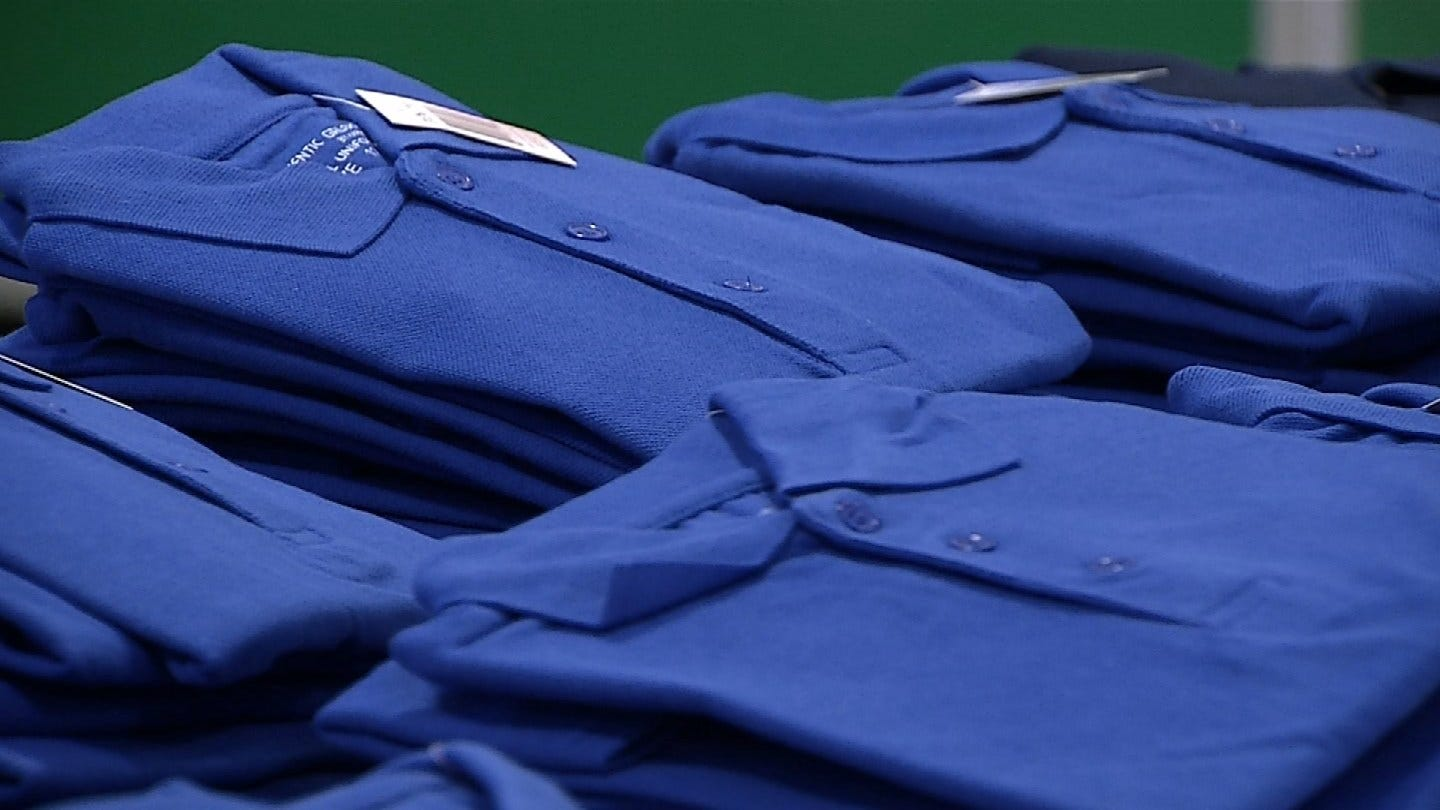 Tulsa Church Gives Uniforms And Supplies To Elementary Students