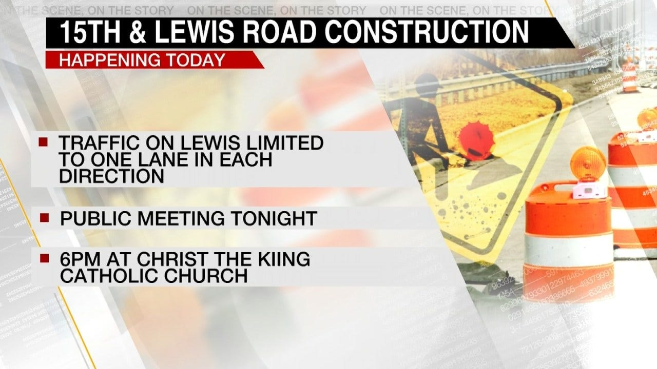 15th Street Construction Meeting Planned