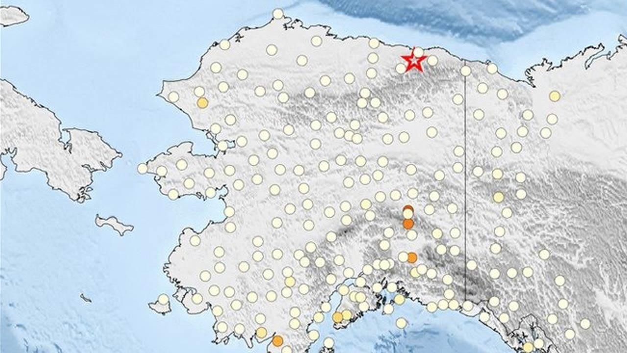 Strongest-Ever Earthquake Strikes Alaska's North Slope