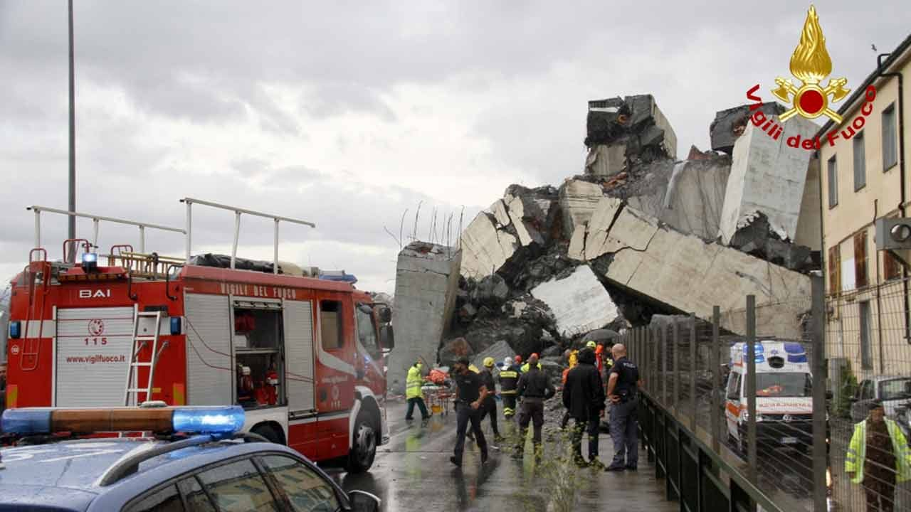 At Least 25 Dead As Italian Highway Bridge Collapses